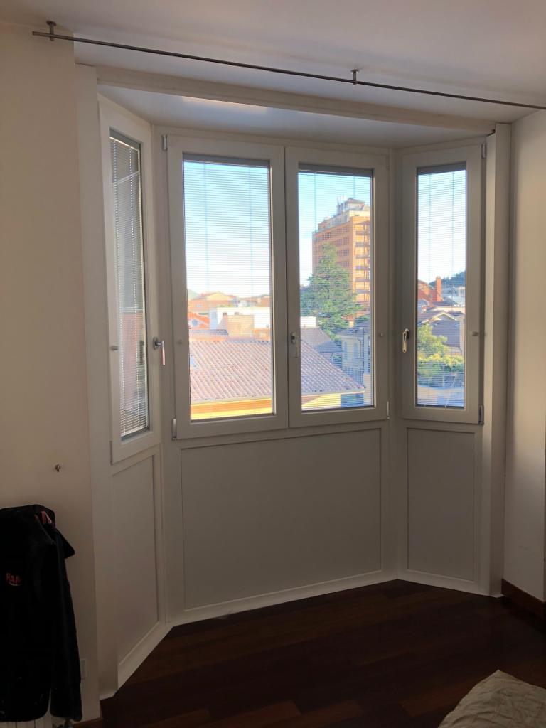 Rivestimento Bovindo e sostituzione finestre Lecco 6